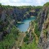 The Velka Amerika Quarry aka the Czech Grand Canyon
