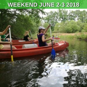 Canoeing Weekend in south Bohemia