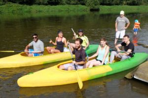 Let's canoe on Berounka! August 2016