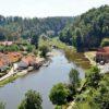 Idyllic Luznice river