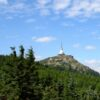 The peak of Mt. Jested 1012 m a.s.l. with the iconic TV tower