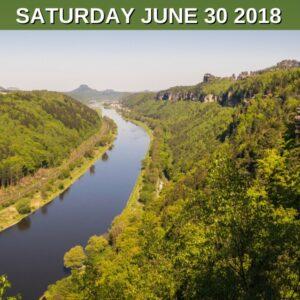 River Elbe and Elbe Sandstone Mountains
