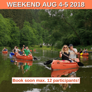Canoeing Weekend on River Ohre