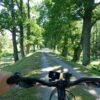 One of many traffic-free cycling trails of Trebonsko