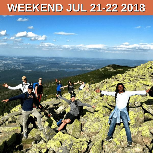 Weekend Trek Across Krkonose July 2018