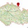 Adrspach-Teplice Rocks on the map of Czech Republic