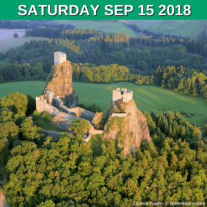 The landmark of Bohemian Paradise - Trosky Castle