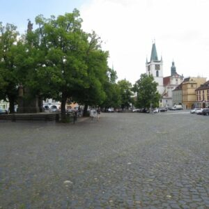 Litomerice is a lovely historical town in northern Bohemia