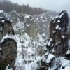Winter in Prachovske Rocks