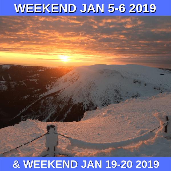Experience the peaks of Krkonose in the winter!