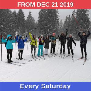 Cross-country skiing winter 2019/20