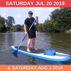 Paddleboarding summer 2019