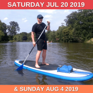 The date of the second paddleboarding trip has been change to 4th August!