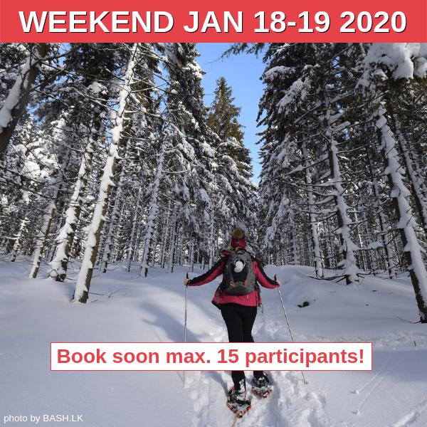 Snowshoeing in Krkonose - Book soon!