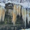 Brtnické Icefalls - Opona (the Curtain)