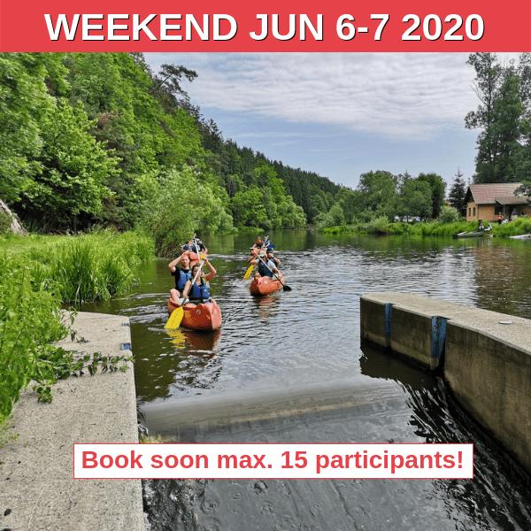Canoeing Weekend South Bohemia 2020