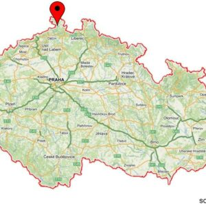 Kyjovske Valley on the map of CZ