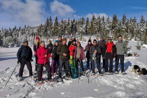 Snowshoeing in Krkonose